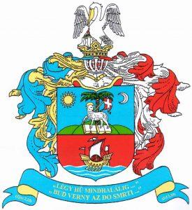 Az SZRKE címere