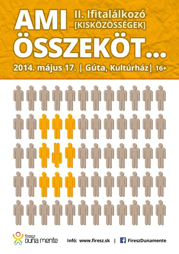 II. ifjúsági találkozó – plakát