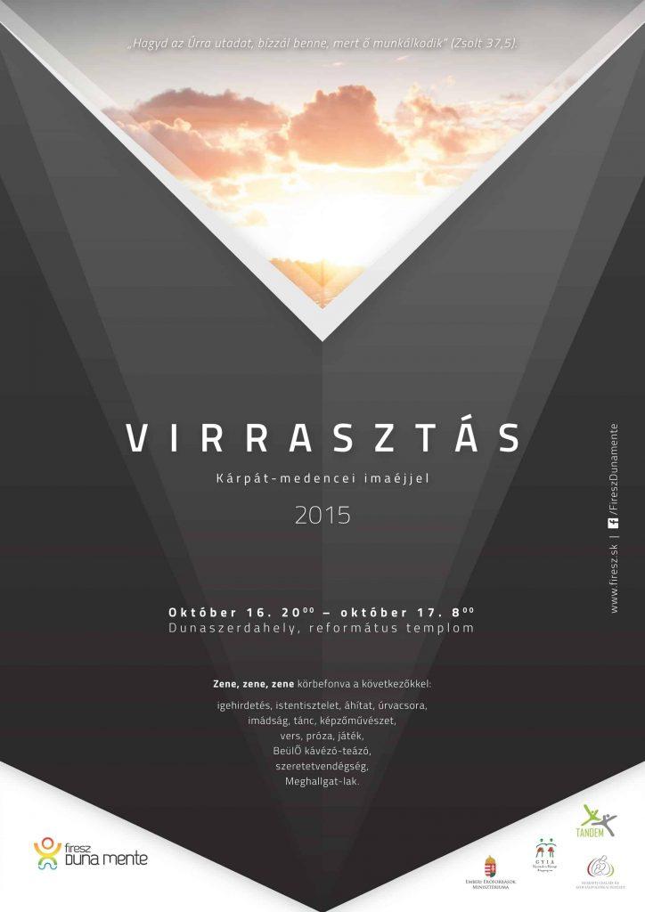 Virrasztás 2015 – plakát
