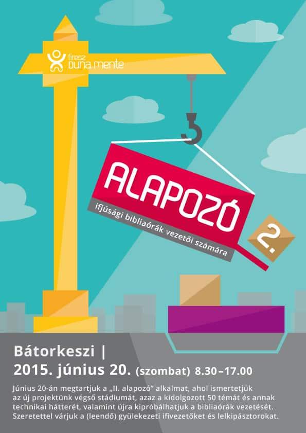 """""""II. ALAPOZÓ"""" – plakát"""